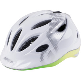Alpina Gamma 2.0 Flash Kids Helmet white-rainbow